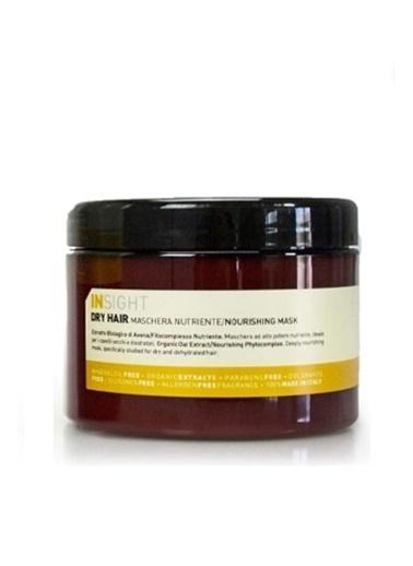 Insight Dry Hair Kuru Mat Saçlar ıçin Besleyici Maske 500 ml Renksiz